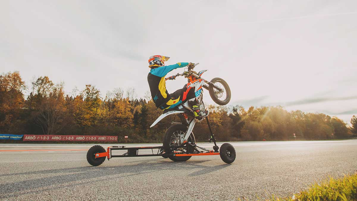 wheelie-training